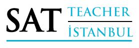 SAT Teacher İstanbul